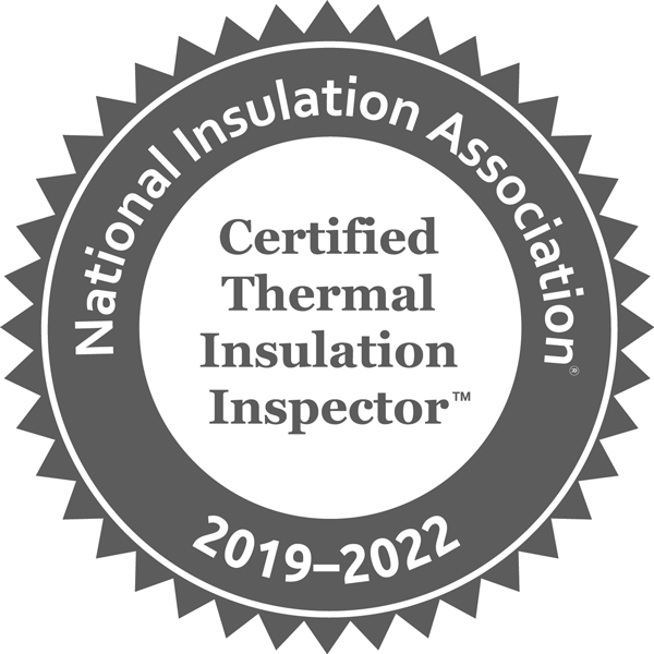 National Insuation Association Certified Thermal Insulation Inspector